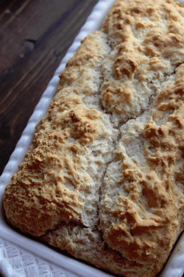 3 Ingredient Beer Bread Recipe - Tammilee Tips