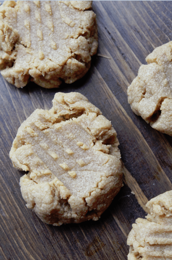 3 Ingredient Peanut Butter Cookies Recipe
