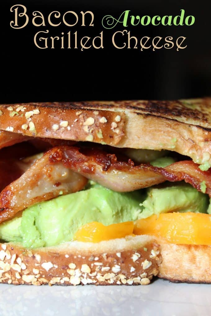 Bacon Avocado Grilled Cheese Tammilee Tips