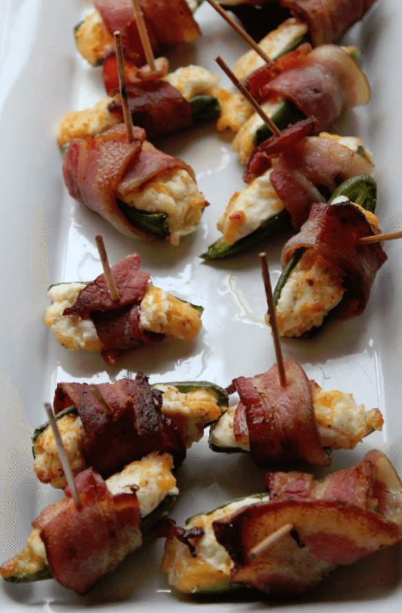 Bacon Wrapped Cream Cheese Jalapeno Bites Recipes — Dishmaps