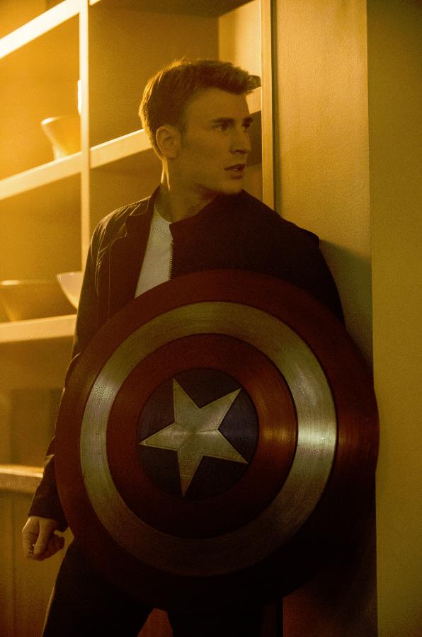 Chris Evans Capt America