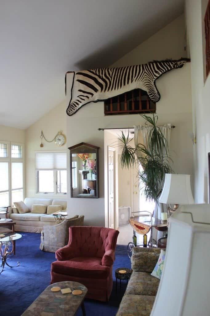 Hells canyon living room