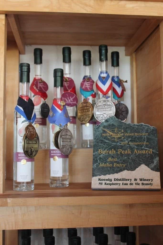 Koenig Award Wine