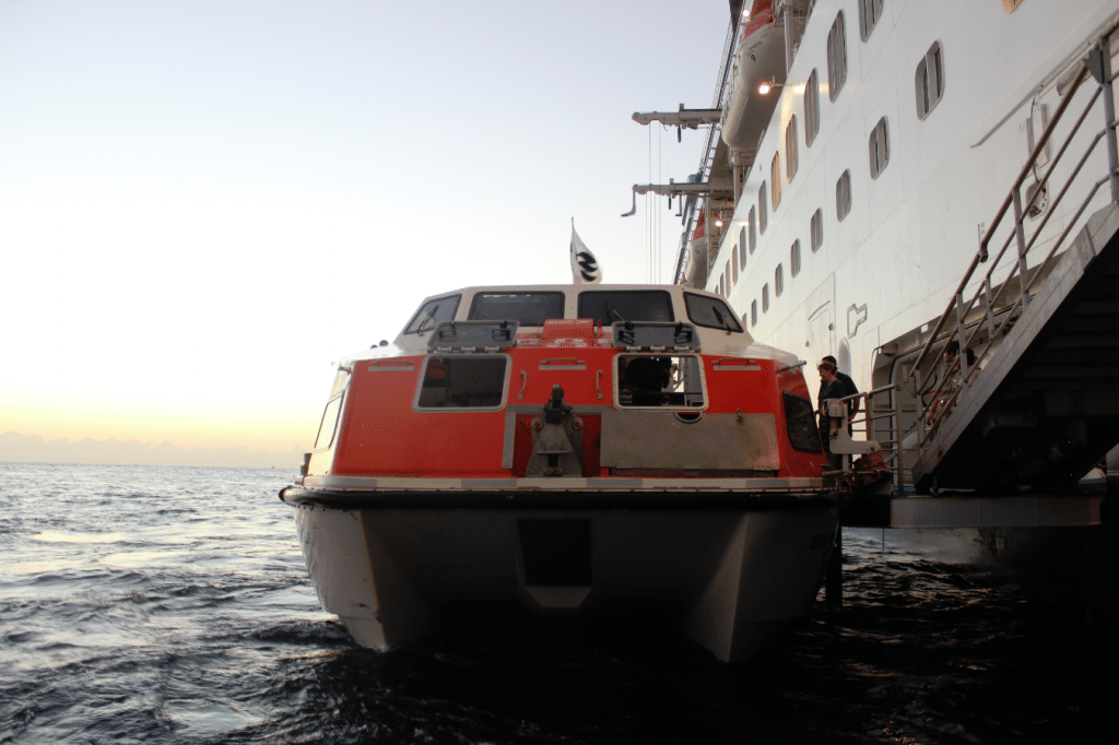 cruise tender