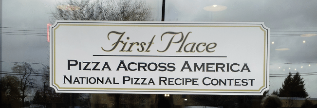 Casa Mia Lakewood Pizza Award