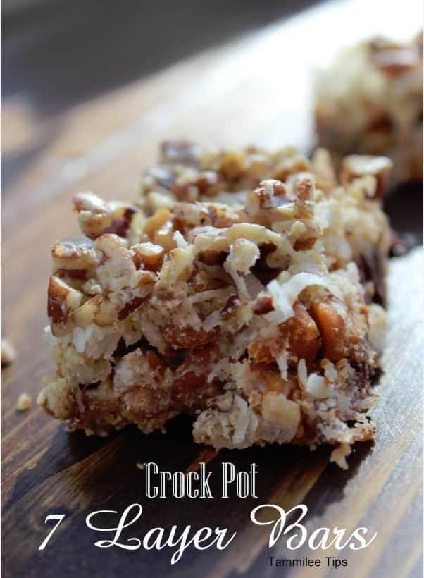 Crock Pot 7 layer bars