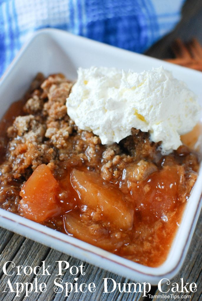 Apple Dump Cake Recipe With Cake Mix