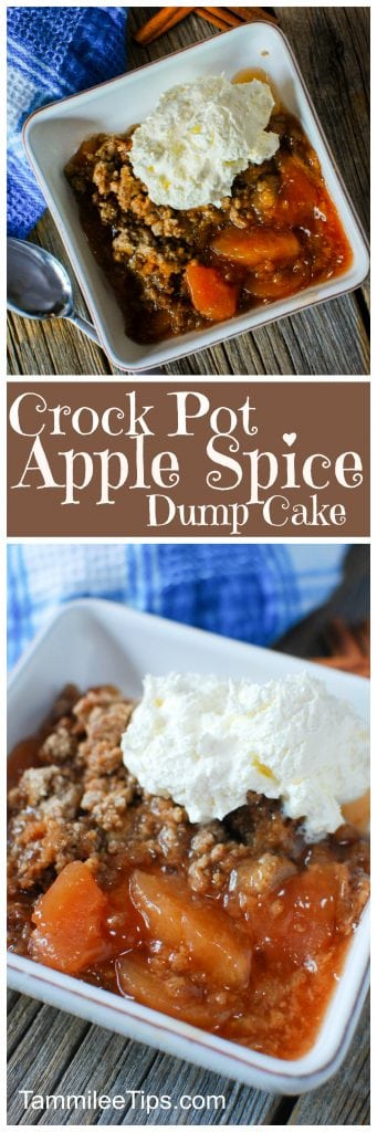 Apples And Cake Mix In Crock Pot