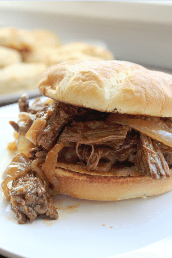 Crock Pot Bourbon Beef Sandwich Recipe Tammilee TIps