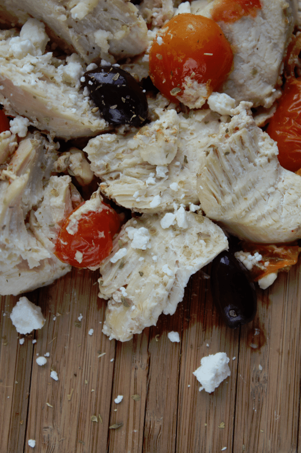 Super easy to make Crock Pot Greek Chicken Recipe