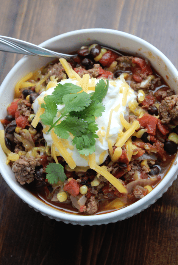 Crock Pot Spicy Taco Soup 2