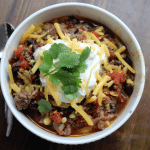 Crock Pot Spicy Taco Soup 5
