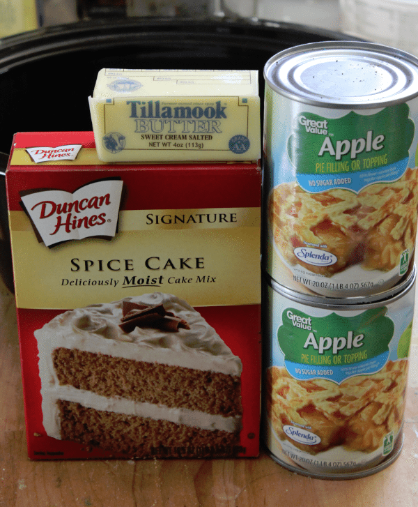 Dump Cake Crock Pot Apple