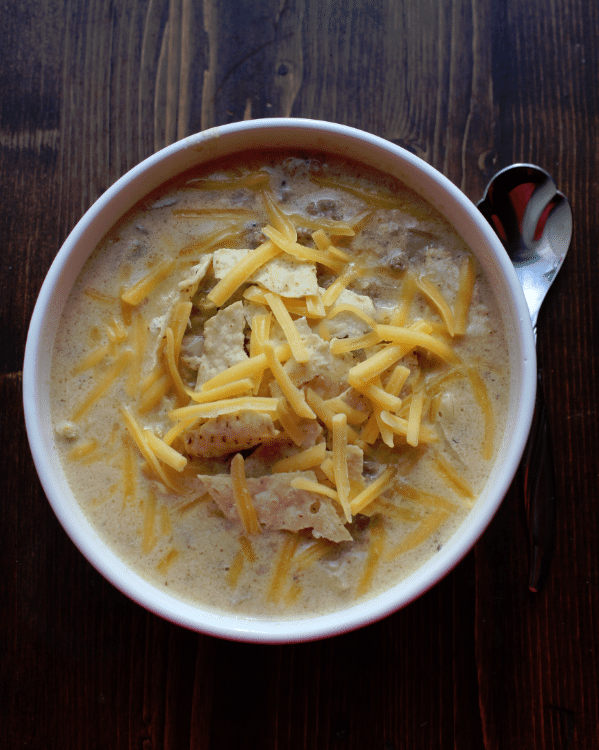 Crockpot Cheeseburger Soup Recipe Tammilee Tips