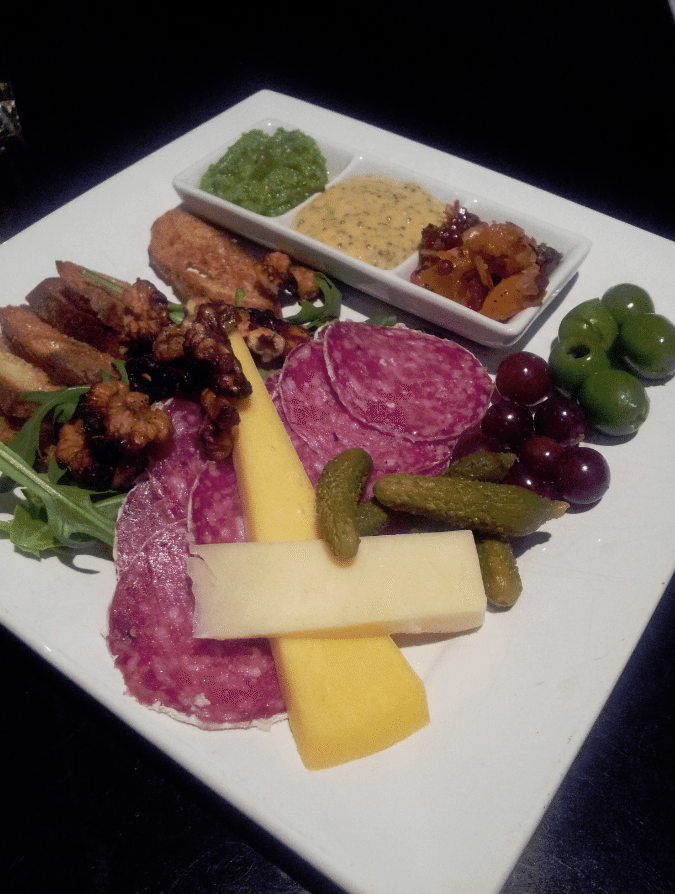 Maxwells Cheese and Meat platter