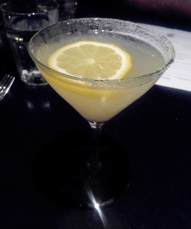 Maxwells Pear Ginger Lemon Drop Martini