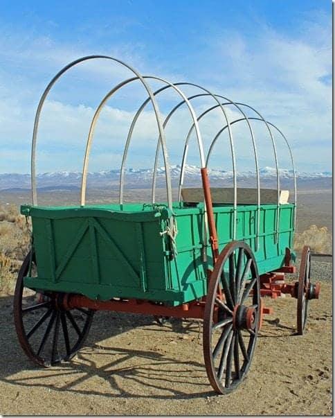 Oregon Trail Green Wagon