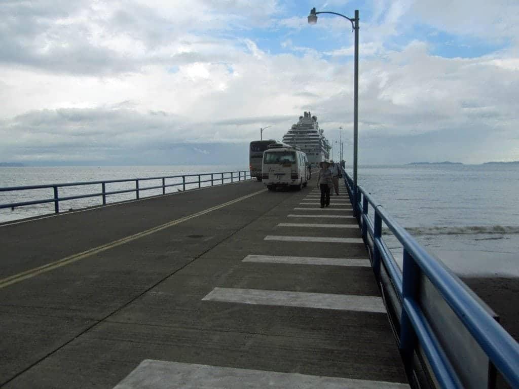 Puntaraneas port terminal