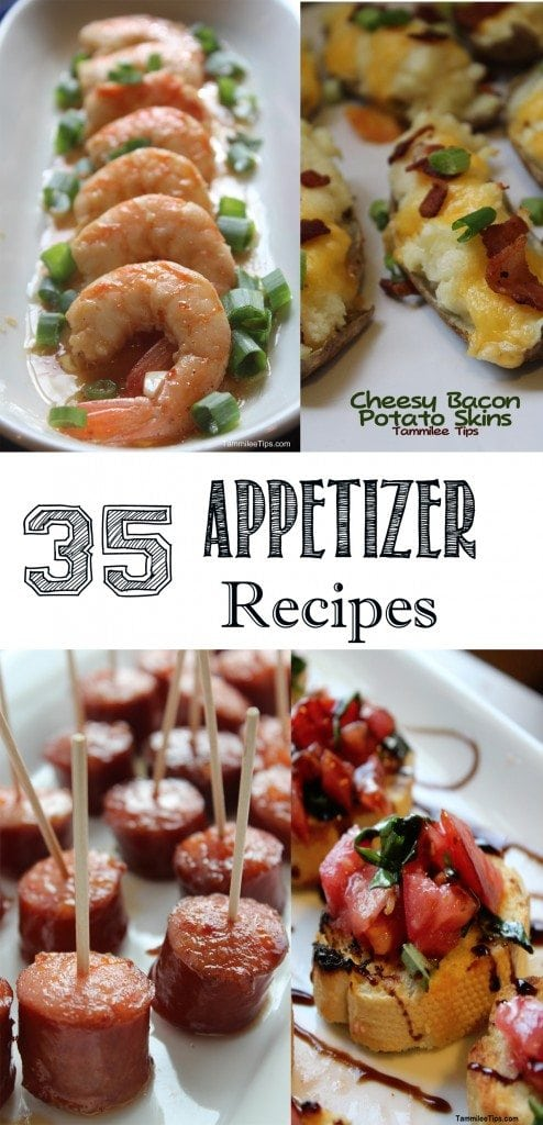 35 Appetizer Recipes