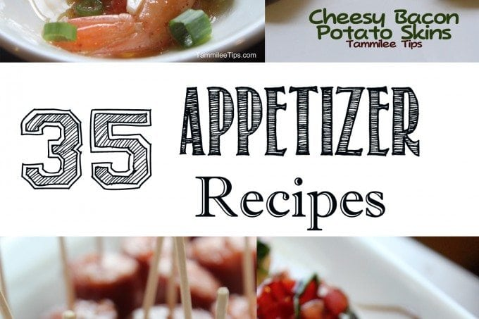 35 finger food appetizer recipes