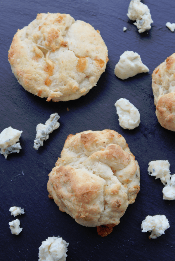 Super Easy Blue Cheese Biscuits