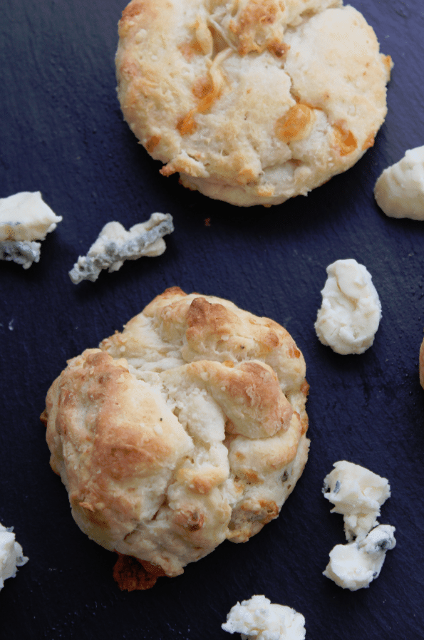 Blue Cheese Biscuits