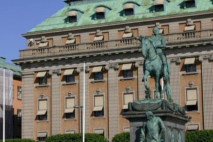 Visit to Stockholm Sweden