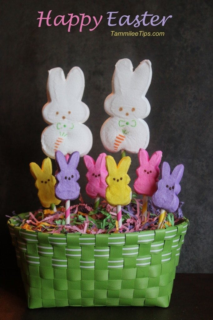 Peeps Easter Centerpiece Tammilee TIps