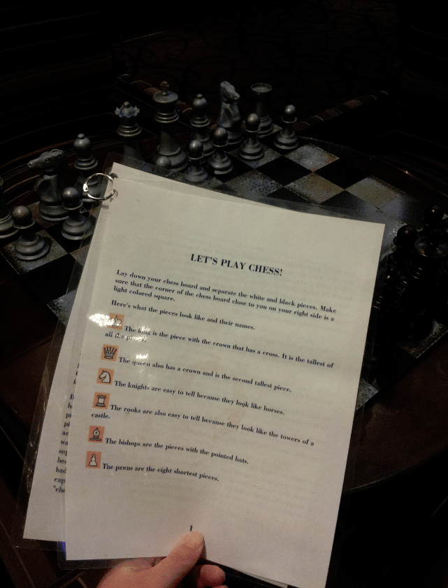 Red Lion Riverside Chess Table Instructions