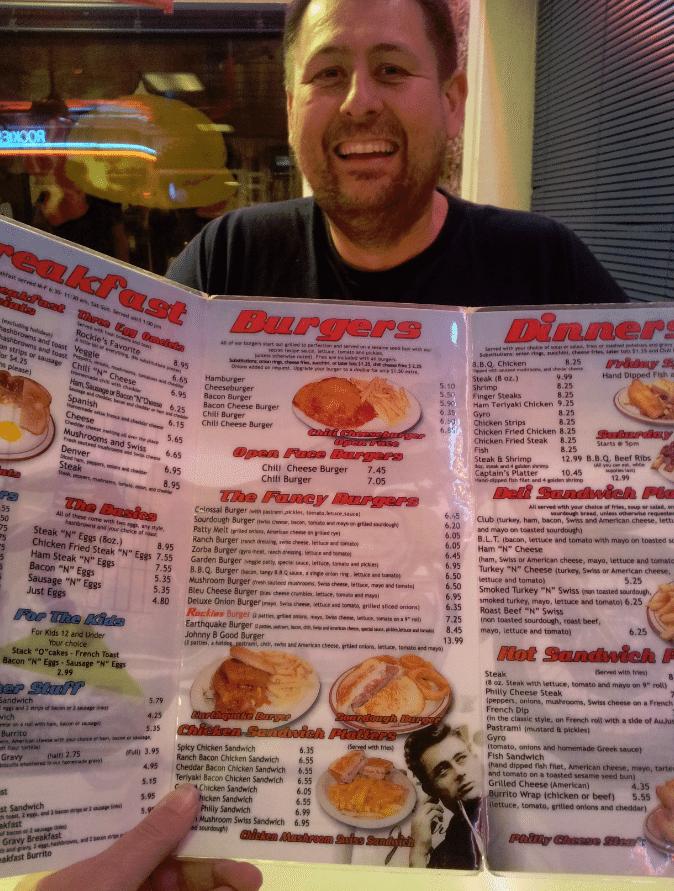 Rockies Diner Boise Menu Burgers