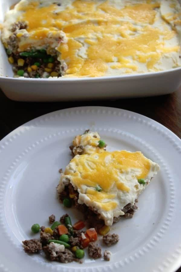 Super easy shephards pie
