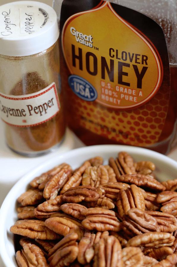 honey pecan ingredients