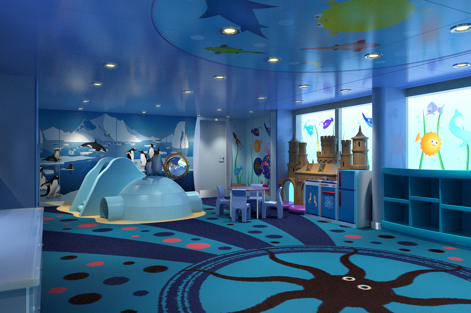 Carnival Cruise Line Introduces New Marine Themed Camp