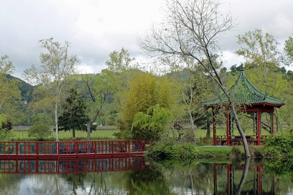 Chateau Montelena grounds