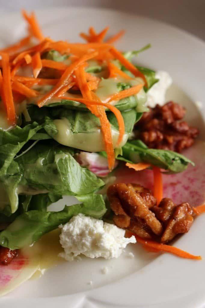 Napa Valley Wine Train salad