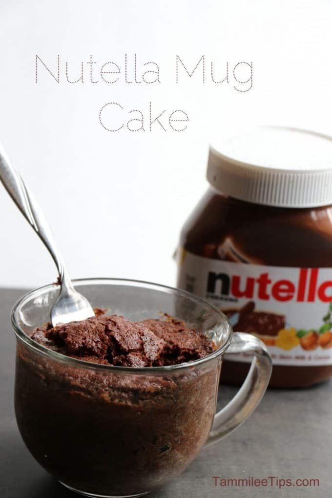 Mug Cake Microwave