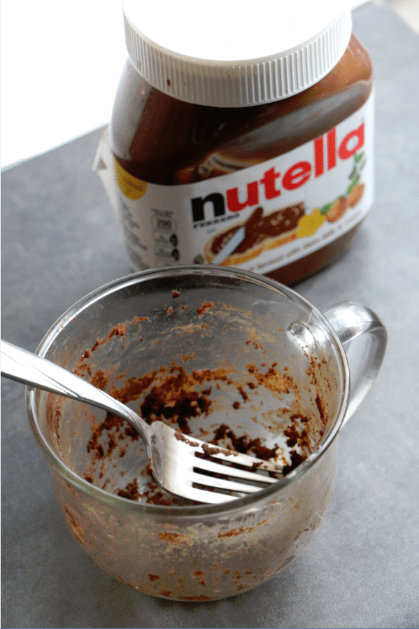 Nutella Mug Cake Tammilee Tips
