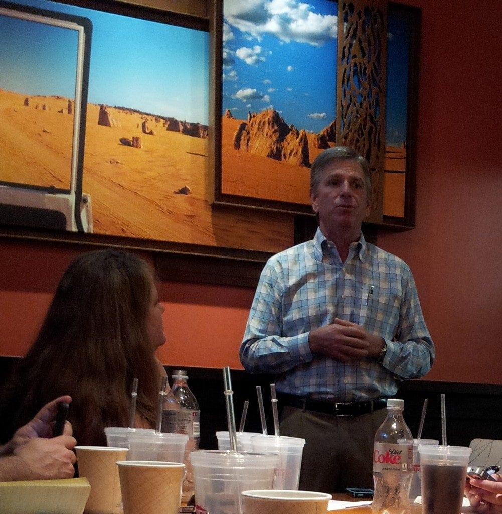 Outback President Jeff Smith