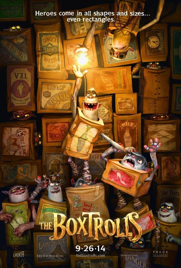 The Boxtrolls Teaser Poster