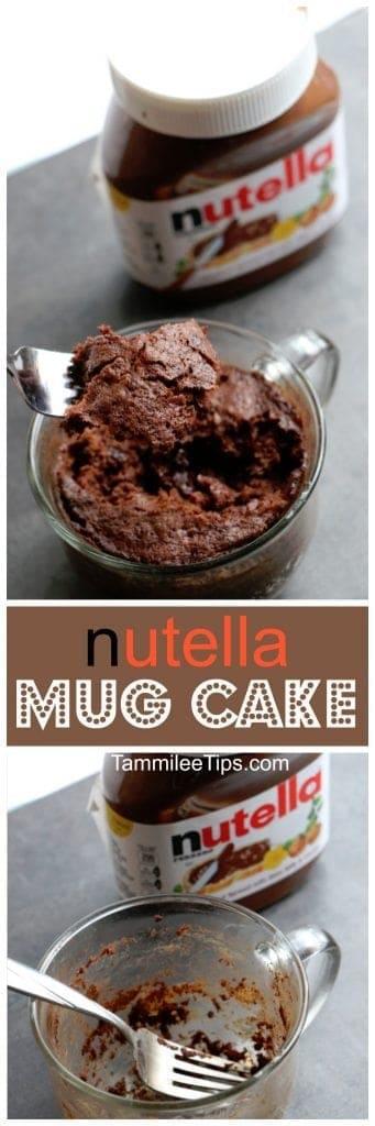 Nutella Cake Without Flour