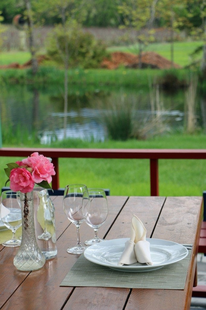 private picnic area Chateau Montelena