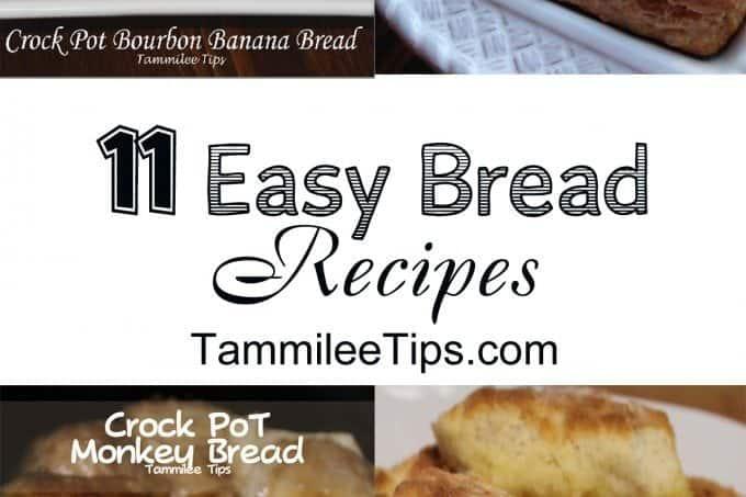 11 Easy Bread Recipes