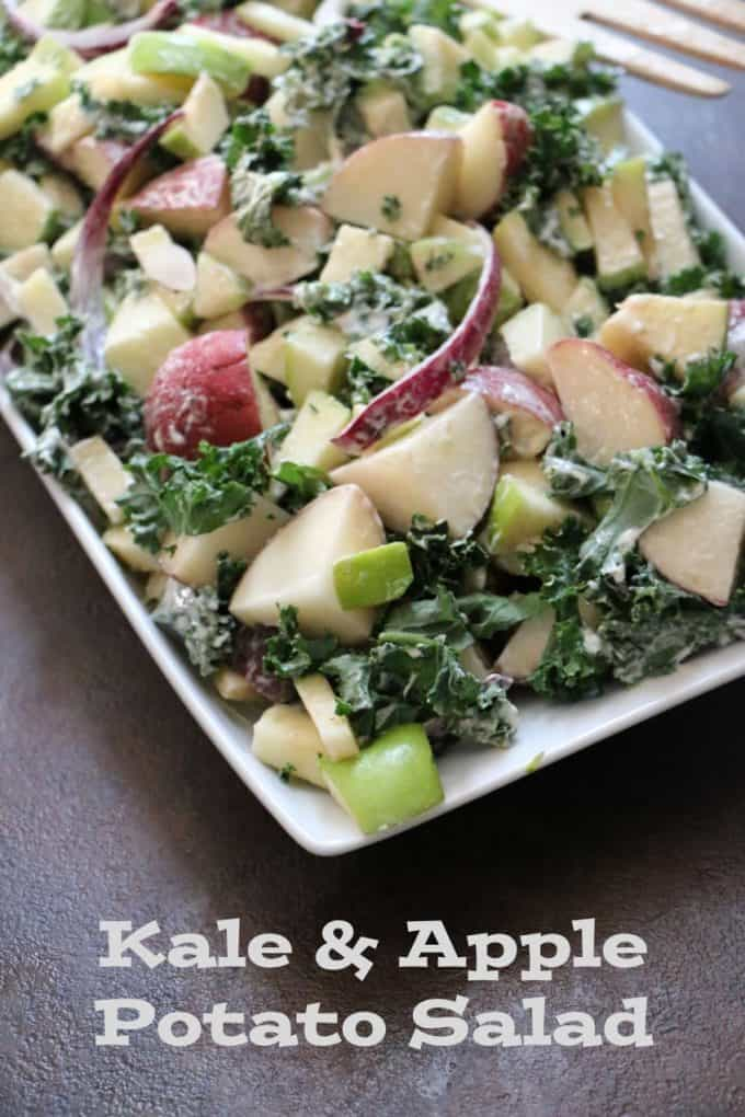 Kale and Apple Potato Salad