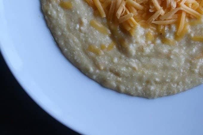Crock Pot Cheese Grits