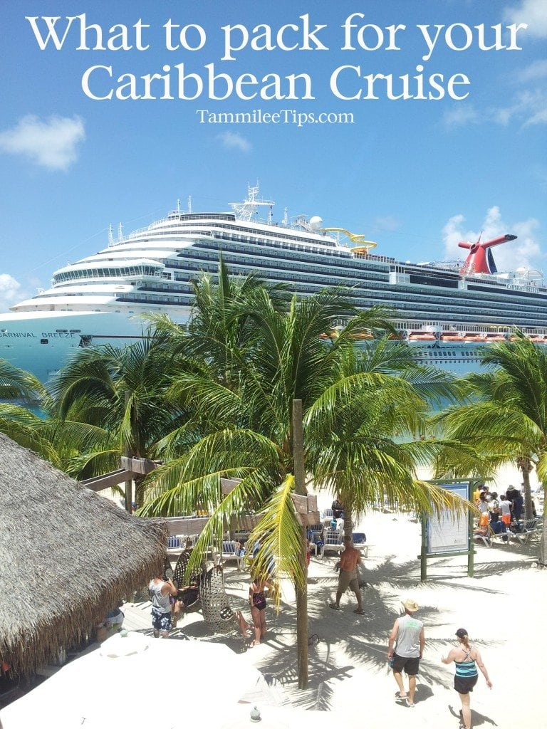 What to pack for a caribbean cruise