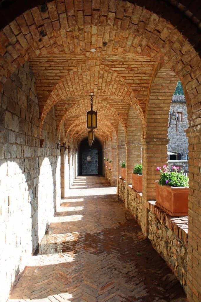 Castello Di Amorosa Guided Tour