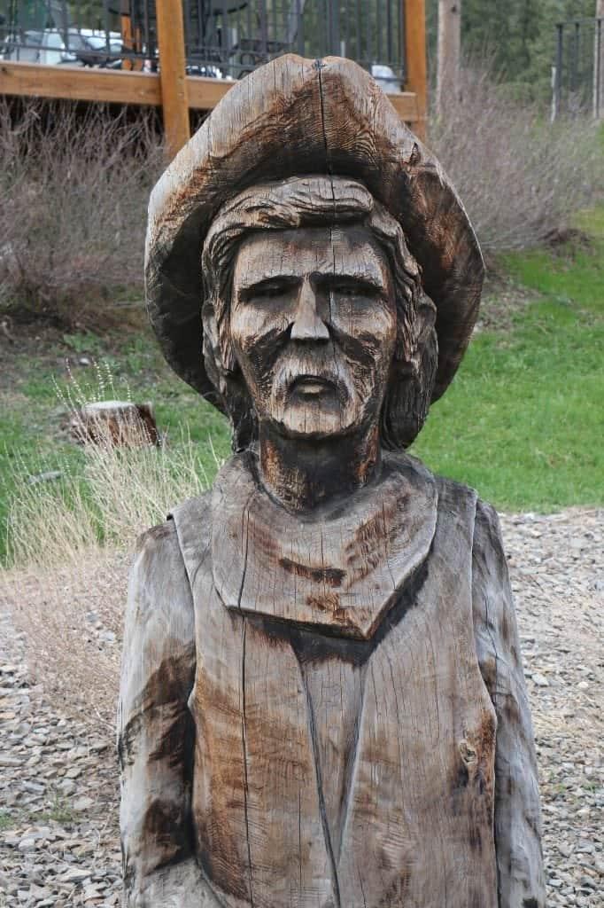 statue at Mt Rushmore KOA