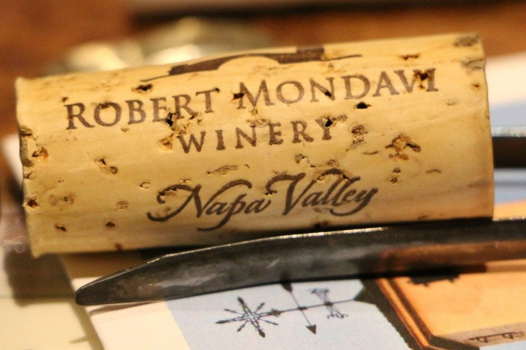 Robert Mondavi cork