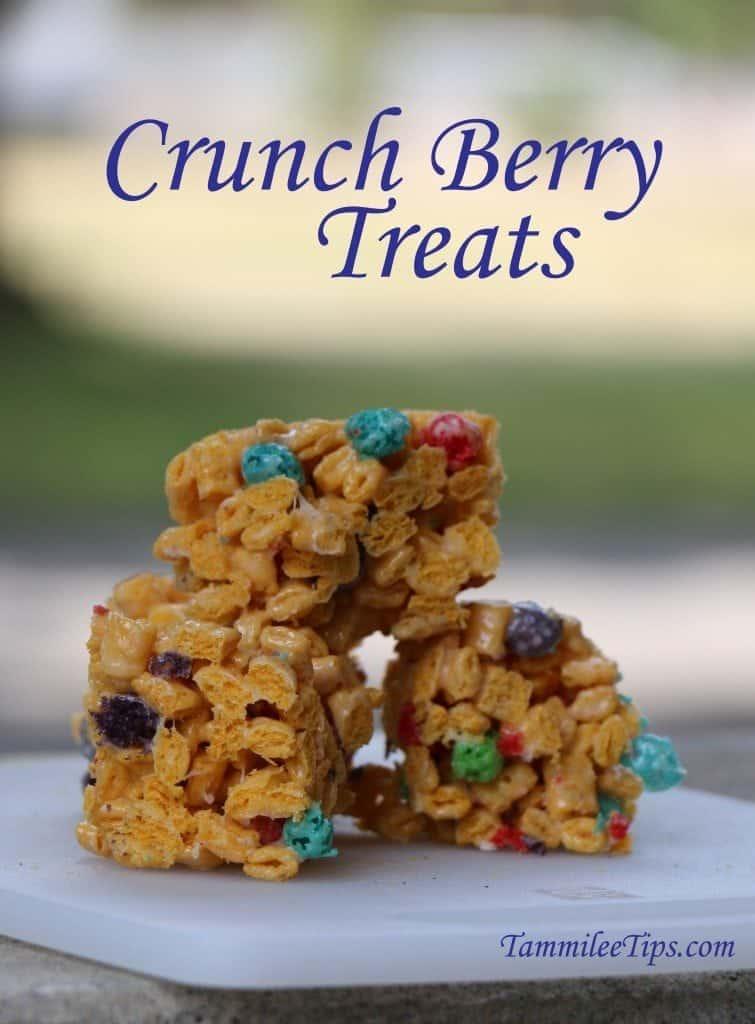 Crunch Berry Treats