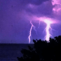 Sanibel lightning sunday night